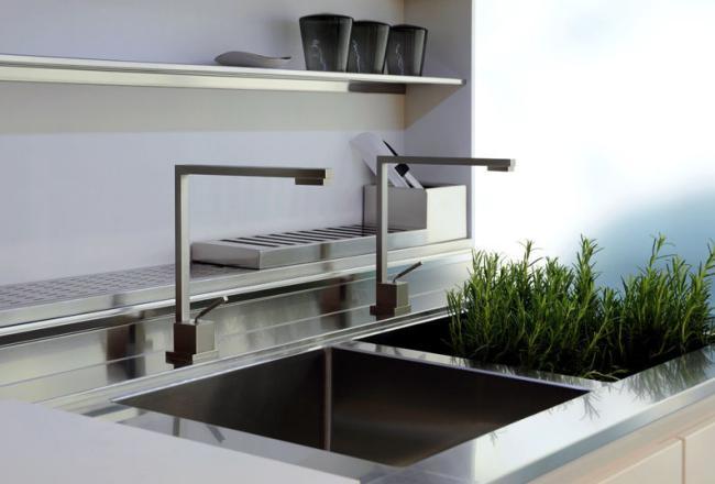 Смеситель для кухни: виды смесителей и45+ фото