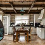 Интерьер деревянного дома — 30 красивых истильных фото