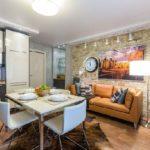 Кухня-гостиная 20 кв м: дизайна объединенного пространства на40 фото