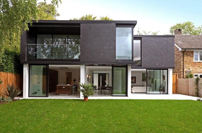 Дизайн фасада дома: фото с35 современными идеями