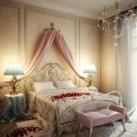 Потрясающе красивая романтическая спальня!