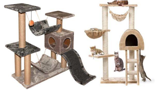 Кошачий домик своими руками