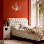 Спальня в оранжевых тонах – домашние нотки позитива!