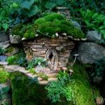 Декоративный домик для сада или домики для клумб — волшебный мир на участке!