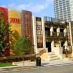 Публичная библиотека Канзас-Сити или стилизованная библиотека в виде книг