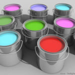 Виды промышленных красок