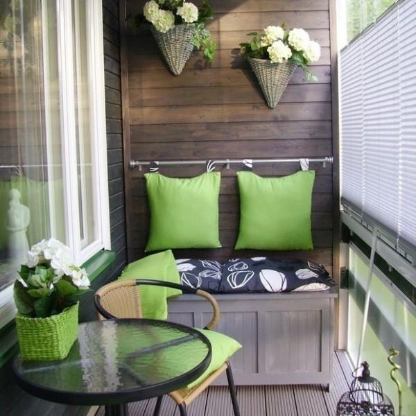 Дизайн маленького балкона: 70 вдохновляющих идей