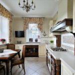 Кухня вофранцузском стиле. Идеи для дизайна (70 фото)