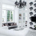 Квартира в белом цвете