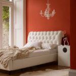 Красная спальня: дизайн и интерьер