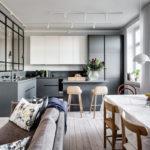 Кухня гостиная вскандинавском стиле: три необычных решения