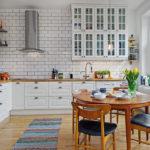 Кухня вскандинавском стиле— красота иаутентичность + 70 фото