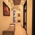 Дизайн узкого коридора вквартире: 5 лайфхаков пообустройству