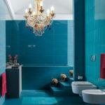 Яркие ванные комнаты