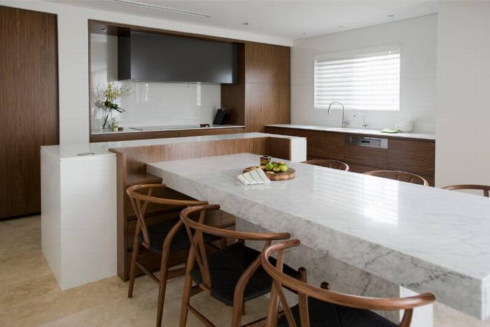 Дизайн-проект интерьера кухни-столовой