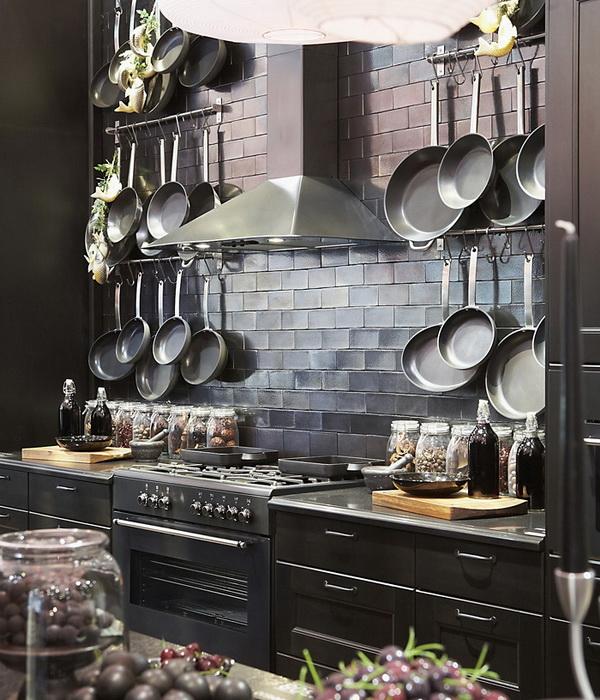 Дизайн рабочей зоны кухни: 9 необычных вариантов