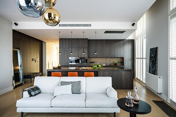 Стильные апартаменты в Варшаве от Republika Architektury