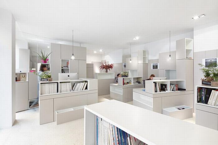 Мебель для креативных и высокофункциональных офисных площадей в Париже