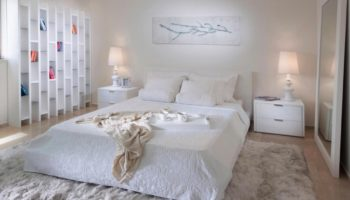 Спальня вбелом цвете: дизайн, излучающий умиротворение