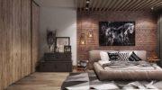 Спальня встиле лофт— выбор современных ипрактичных (50 фото)