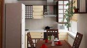 Кухня вяпонском стиле: восточное великолепие на50 фото