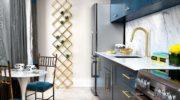 Стильный дизайн узкой кухни— это реально? (70 фото)
