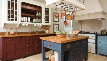 Кухня ванглийском стиле— идеи для декора+70 фото