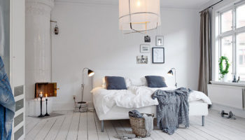Великолепная спальня вскандинавском стиле: красота на60 фото