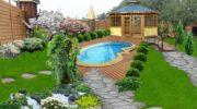 Дизайн садового участка: потрясающие идеи на70 фото