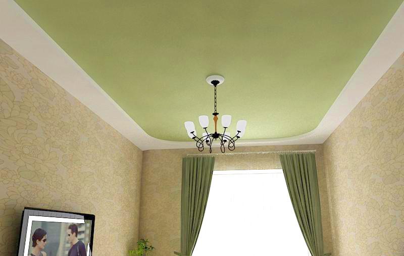 Матовый натяжной потолок – отличный выбор для классического интерьера