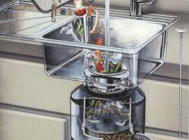 Измельчитель в раковину: что это такое и как им пользоваться