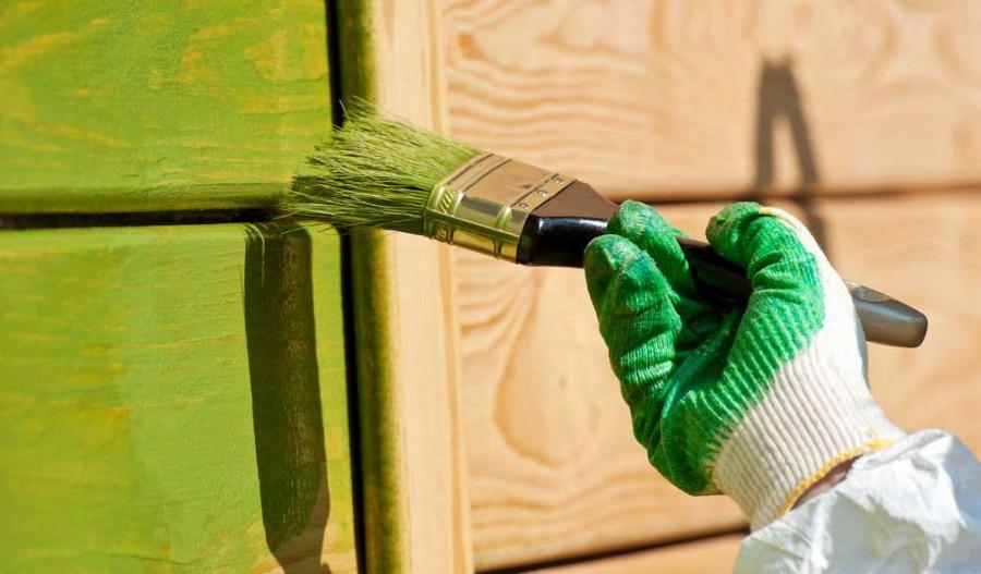 Как правильно выбрать краску для фасадных работ
