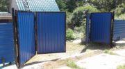 Конструкция и применение складных ворот
