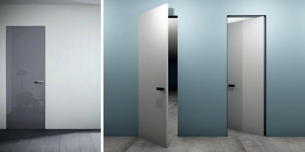 Основные разновидности и преимущества использования скрытых дверей
