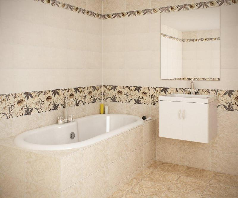 Что нужно учесть при выборе дизайна плитки для ванной