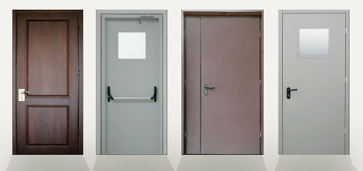 Виды и особенности противопожарных дверей