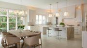 Современный дизайн кухни-столовой: стоит ли оформлять в светлых тонах?