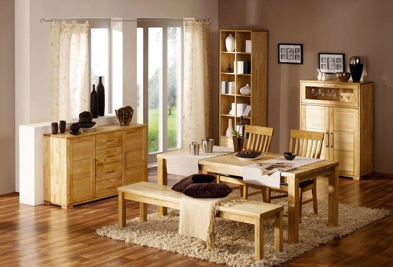 В чем основные преимущества мебели из массива